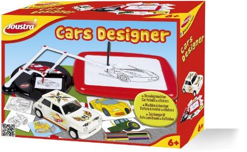 Joustra - 41444 - Kit de Loisir Créatif - Cars Designer