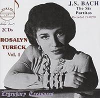 Rosalyn Tureck Vol. 1 - the Six Partitas (Recorded 1949/50) by Johann Sebastian Bach