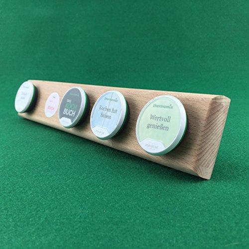 Rezept Chip Halter Board für Ihren Thermomix TM5 - für 5 Chips (Buche)