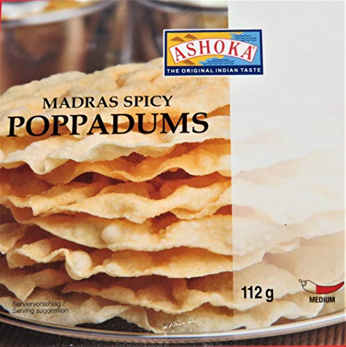 Poppadums - Medium Spicy- indische Spezialität -