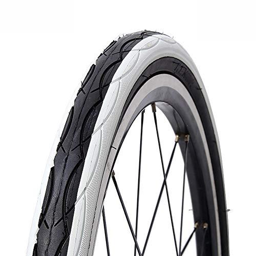 llsdls Neumático de la Bicicleta de Color 20 14 Borde 20 * 14 * 1,5 Neumáticos 1,75 Ultraligero 290g BMX Bicicleta Plegable del Bolsillo de Bicicleta de montaña de 20 Kid Pneu (Color : White)