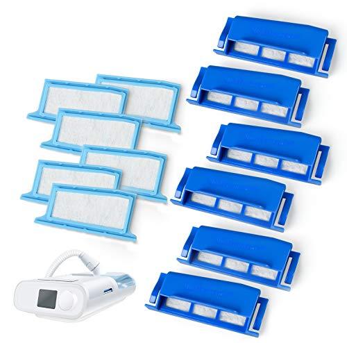 Medihealer Filter Kit 52 Pack: 6 Assembled Filters + 20 Ultra-fine + 20 Foam - Premium Pollen & Hypoallergenic, Assemble Filter into Reusable Frame Kit - Medihealer Replacement Filter Supplies