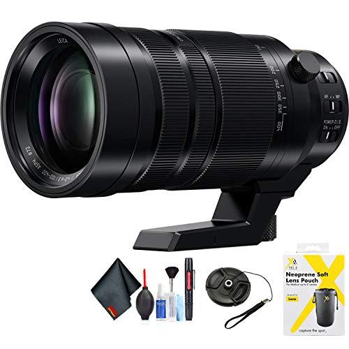 Panasonic Leica DG Vario-Elmar 100-400 mm f/4-6.3 ASPH. Objectif Power O.I.S. pour monture Micro Four Thirds + accessoires