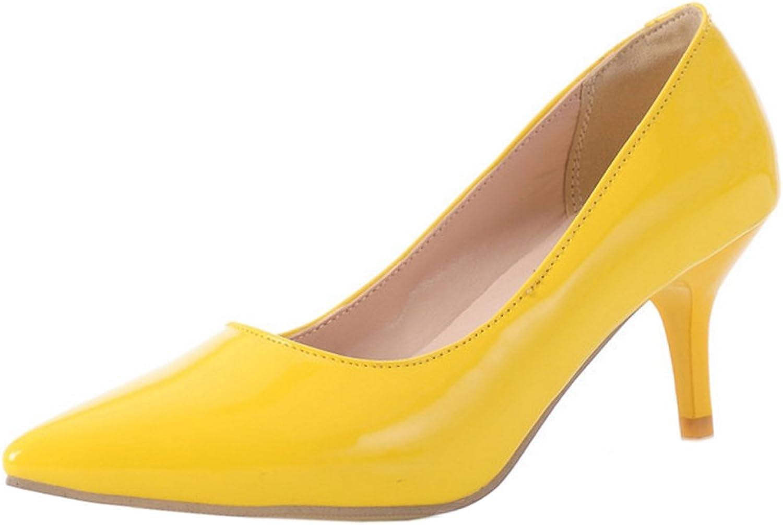 FANIMILA Women Pointed Toe Pumps Heels