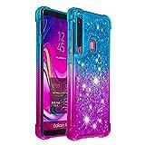 HUDDU Samsung Galaxy A9 2018 Glitter Case Shockproof
