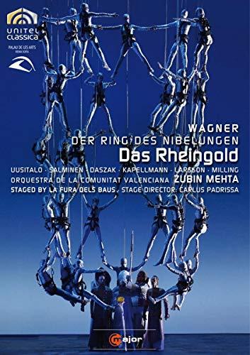 WAGNER: Das Rheingold (staged by La Fura dels Baus) - Zubin Mehta [2 DVDs]