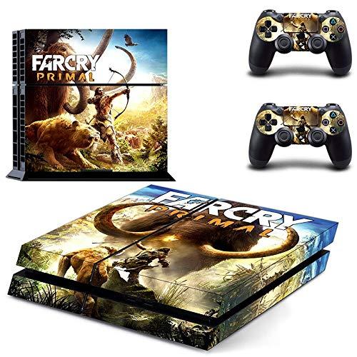 FENGLING Far Cry Primal Ps4 Skin Sticker Calcomanía para Playstation 4 Consola y 2 Controladores Ps4 Skin Sticker Vinilo