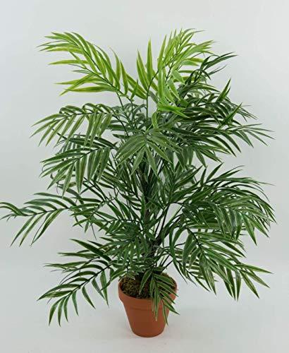 Seidenblumen Roß Palmenbusch/Zimmerpalme 60cm im Topf GA Kunstpflanzen Kunstpalmen künstliche Blumen Pflanzen Palme Dekopalme im Topf