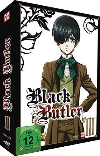 Black Butler - Staffel 1 - Vol. 3 - [DVD]