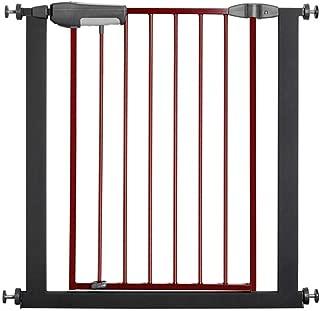 Extra Wide Baby Safety Gates Walk Thru Child Safety Door Guardrail Baby Safety Guardrail Fence Expandable Pet Corridor Door Fence Isolation Guardrail  Color High75cm width  Size 125-136cm