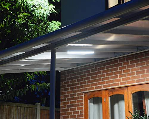 Palram Beleuchtungssystem, Praktisches Zubehör – Kompatibel Mit Dem Kompletten Sortiment Von Palram: Terrassenüberdachungen, Pavillons, Gewächshäuser, Geräteschuppen und Carports