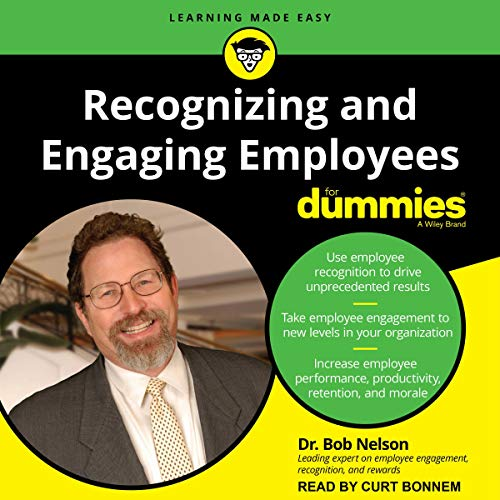 Couverture de Recognizing and Engaging Employees for Dummies