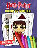 Harry Potter Color By Number For Kids: Many Flawless Harry Potter Illustrations For True Fans And All Kids Playing With Vivid Colors