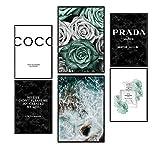 Postertech® Premium Poster (6er Set) | Poster Set Coco