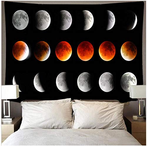 BD-Boombdl Tapestry Moon Decoration Beach Blanket Camping Tent Travel Mattress Corridor Hotel Christmas Decoration 200x150 cm