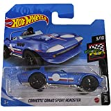 Hot Wheels Corvette Grand Sport Roadster HW Race Day 3/10 2021 (37/250) Short Card