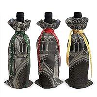 [Description du design] Impression pleine largeur, tissu en peluche de polyester. [Performance du produit] Il est solide et la surface rugueuse est douce et lisse, vous donnant une sensation de chaleur. La partie supérieure de ce sac à vin utilise de...