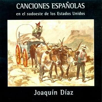 Canciones Españolas en el Sudoeste de Estados Unidos