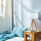 Versanora VN-L00008 Tripod Table Lamps, White