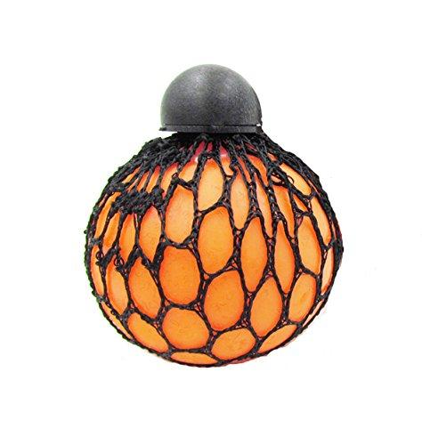 Novelty Vent Stress Uva palla stress Relief Squeeze Ball Toy Mesh Squishy Uva palla per adulti bambini colori assortiti [1pc]