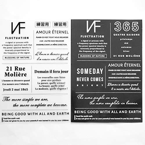 手作り工房MYMama BIG ロゴ ペッタグ 白 黒 セット 全14パターン ハンドメイド用 アイロン ワッペン タグ 布用 転写シール 転写シート