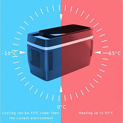 LYZL Refrigerador de Coches, Mini refrigerador y Calentador, con Agua Caliente y fría, 35 ° C Fuerte de refrigeración, Control de Temperatura, 32db Silencio, para el Coche/Inicio