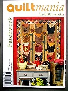 Quiltmania The Quilt Magazine No. 76 Chicken Blocks Design, Tulip Quilt, Vintage Quilt Pattern, Atelier Salgarollo