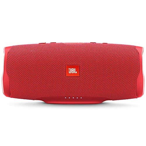 JBL Charge 4 Portable Waterproof Wireless Bluetooth Speaker - Red (Renewed)