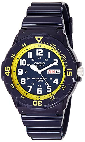 Casio Reloj Analógico para Hombre de Cuarzo con Correa en Resina MRW-200HC-2BVEF