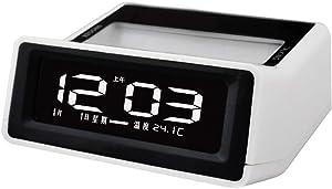WANGZZZ Réveil, Horloge, Calendrier créatif, Horloge électronique, Horloge Lumineuse LCD à Cristaux liquides