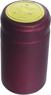 Home Brew Ohio Burgundy PVC Wine Shrink Capsules 30 count