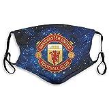 Hombres Mujeres Manchester United Respirador con correas ajustables