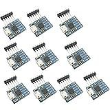 KKHMF 10個 CP2102 マイクロ USB転UART TTL モジュール 6ピン シリアル コンバーター STC FT232を置換でき