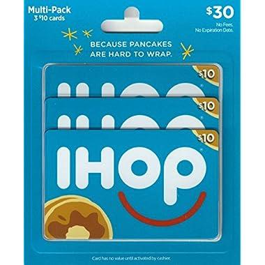 IHOP Gift Cards, Multipack of 3 - $10