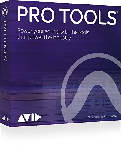 Pro Tools by Avid. Professional Digital Audio Workstation for Sound Recording & Production (Boxed) Perpetual licence with 12 months support and upgrades.