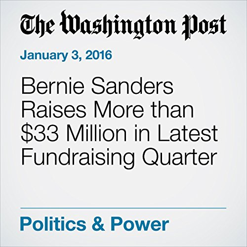 Bernie Sanders Raises More than $33 Million in Latest Fundraising Quarter cover art