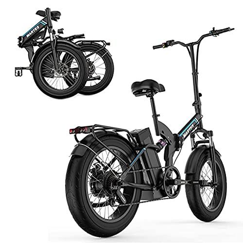 YX-ZD Bicicletta Elettrica Neve Pieghevole 20