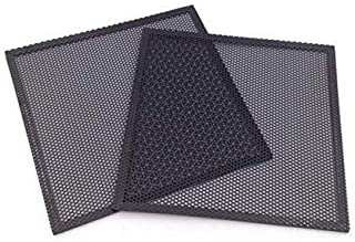 DGQ Ultra Fine Fan Filter - PVC Black Computer Fan Grills PC Cooler Fan Dustproof Case Cover Computer Mesh (120mm-2)