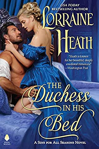 book cover of The Duchess in His Bed