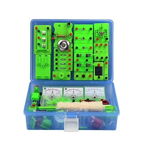 学校理科実験室基礎物理電気回路学習スターターキット、磁気実験教育キット、子供向け電磁気探査キットセット電磁気小学校電気