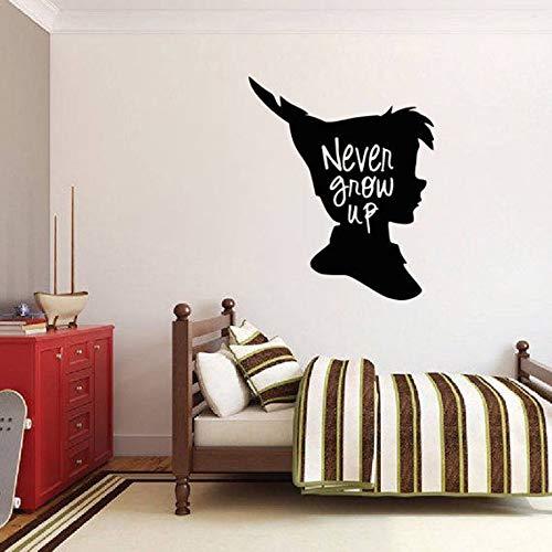 Las calcomanías pared dibujos animados dormitorio