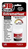 J-B Weld 37901 2 Pack 3 oz. Extreme Heat Temperature Resistant Metallic Paste