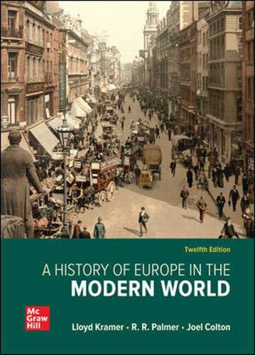 A History of Europe in the Modern World