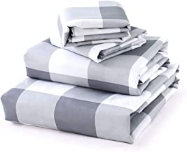 Luxe Bedding Sets - Microfiber Twin XL Sheet Set 3 Piece Bed Sheets, Deep Pocket Fitted Sheet, Flat Sheet, Pillow Case Twi...