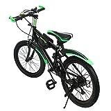 Bicicleta de 20 pulgadas para niño, bicicleta de ciudad, 6 velocidades, bicicleta de adulto, velocidad variable, carga máxima 85 kg, freno de doble disco