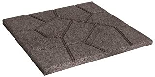 22 sq.ft Water Resistant Flooring Tiles Indoor Outdoor Pack of 11 Terra Cotta - Stripe Long 4 Slat 12/× 24 Samincom Deck Tiles Interlocking Wood-Plastic Composites Patio Pavers