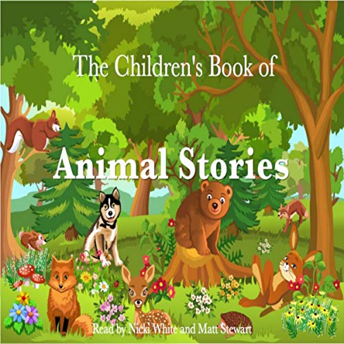 The Children's Book of Animal Stories audiobook cover art