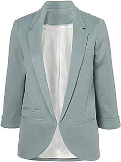 5899c0993c903 Femme Veste De Tailleur Slim Manteau Court Blazers