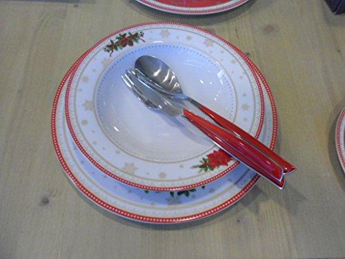 EASY LIFE Set d'assiettes 18 pièces 2 Spir
