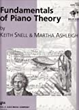Fundamentals of Piano Theory Level 1 Teacher's Answer Book #GP661T by Keith Snell